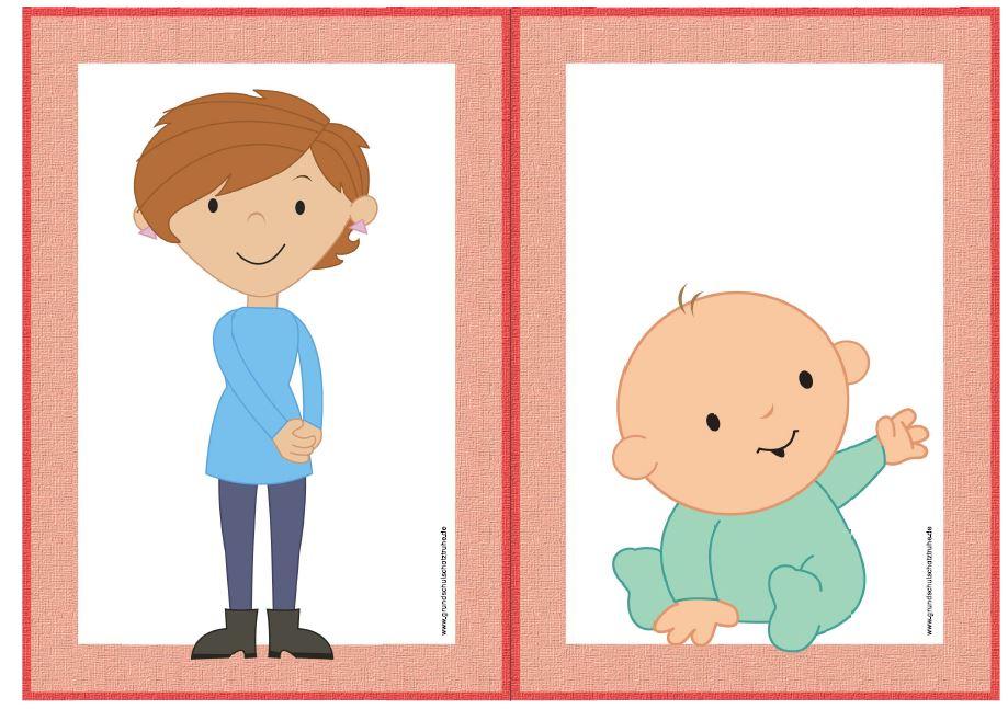 Bildkarten family