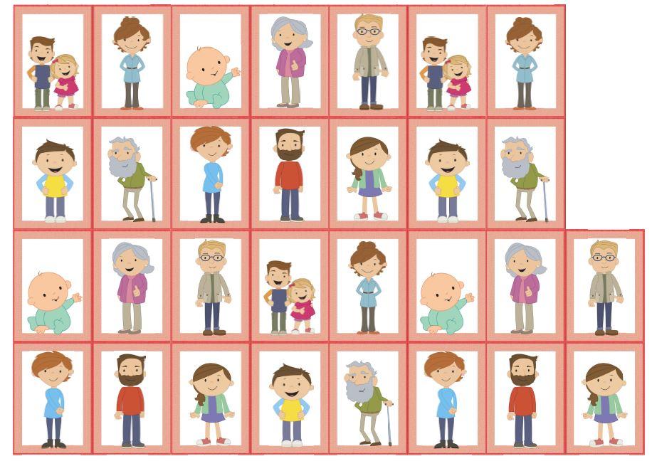 Memory Bildkarten family