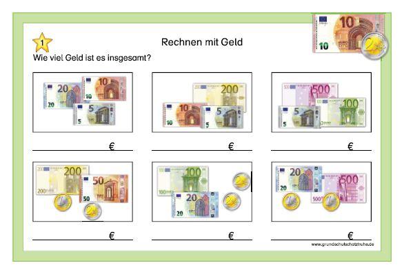 Rechnen mit Geld1