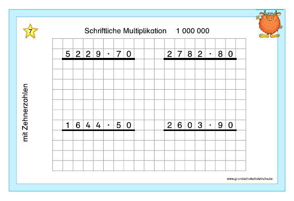 Schriftliche Multiplikation3