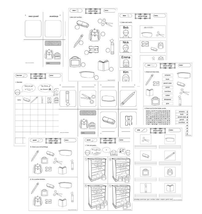 arbeitsbl tter. Black Bedroom Furniture Sets. Home Design Ideas
