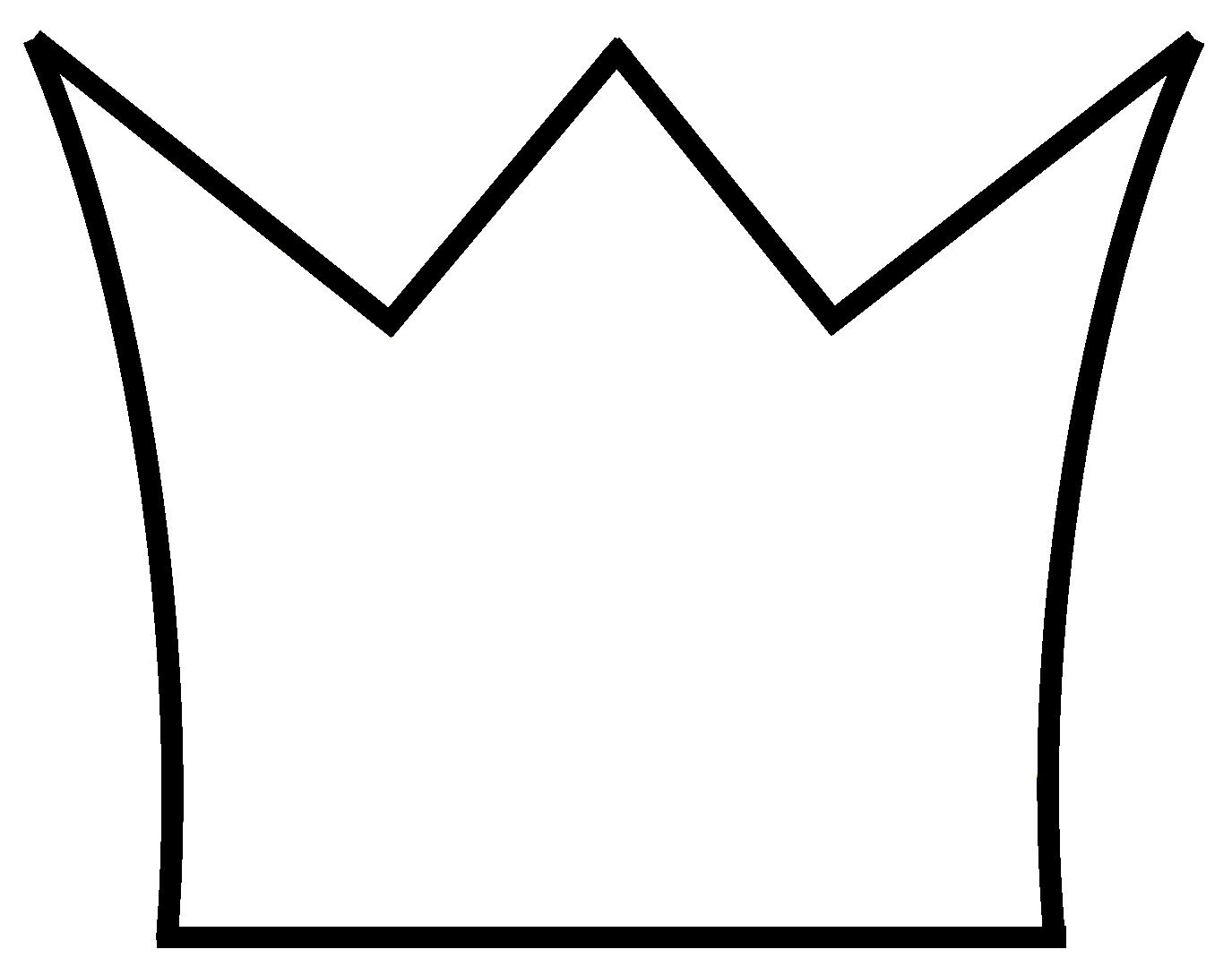 Krone weiß