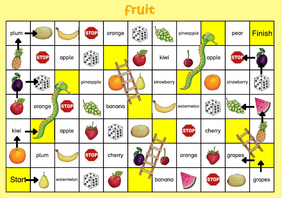 snakes and ladders fruit