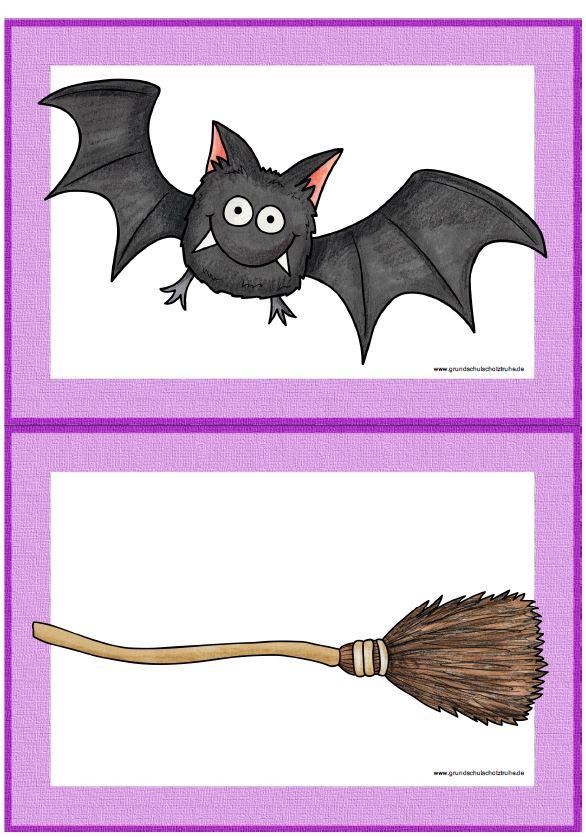 Bildkarten Halloween