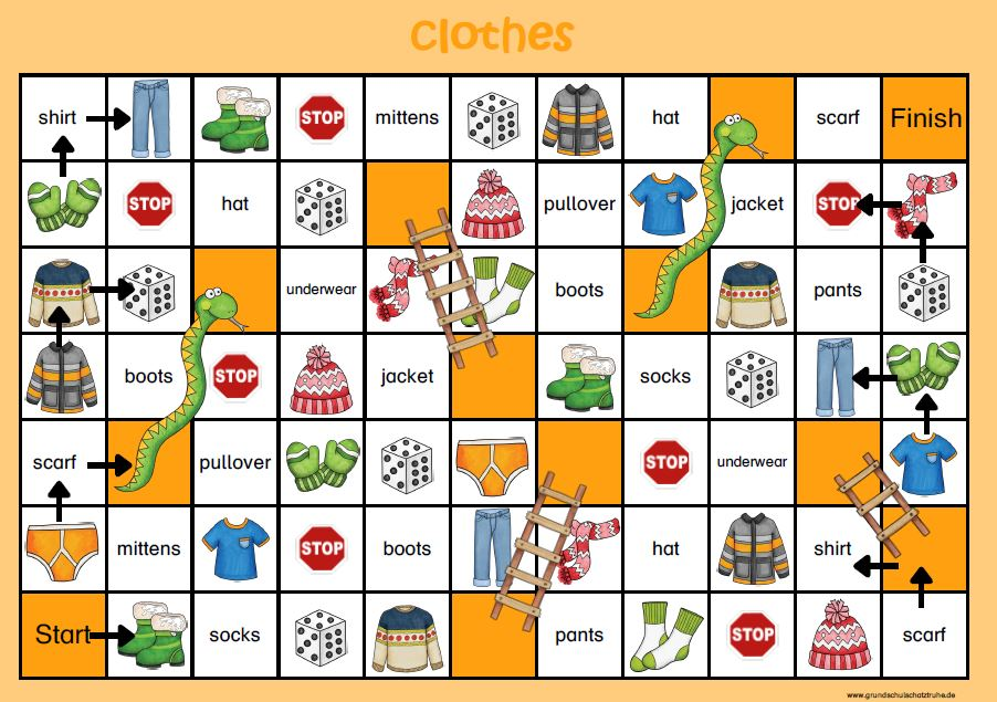 snakes and ladders clothes