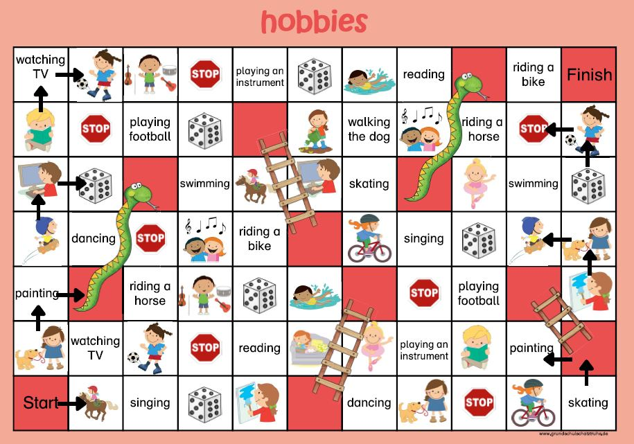 snakes and ladders hobbies